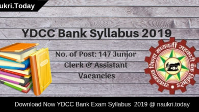 YDCC Bank Syllabus