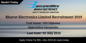 BEL Recruitment