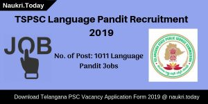 TSPSC Language Pandit Recruitment