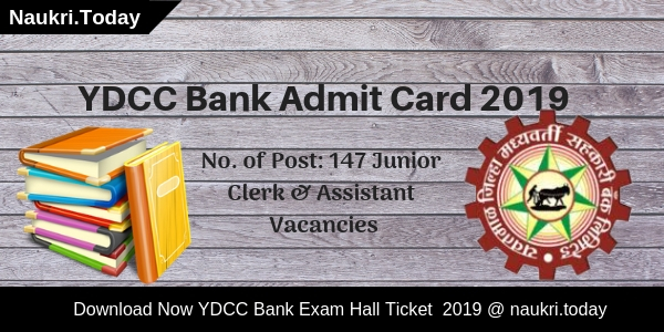 YDCC Bank Admit Card