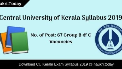 Central University of Kerala Syllabus