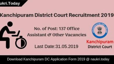 Kanchipuram District Court Recruitment
