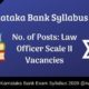 Karnataka Bank Syllabus