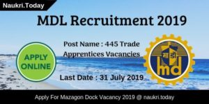 MDL Recruitment