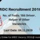 MIDC Recruitment