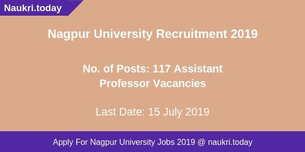 _Nagpur University Recruitment