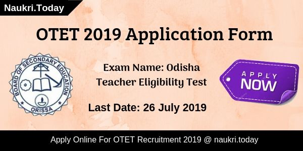 OTET Recruitment