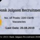JDCC Bank Jalgaon Recruitment