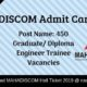 MAHADISCOM Admit Card
