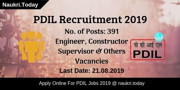 PDIL Recruitment