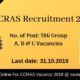 CCRAS Recruitment