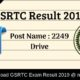GSRTC Result