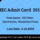 HEC Admit Card
