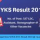 NYKS Result