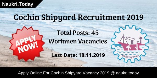 Cochin Shipyard Recruitment (1)