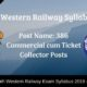South Western Railway Syllabus