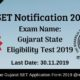 GSET Notification