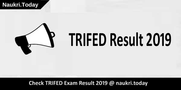 TRIFED Result