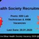 Bihar Health Society Recruitment 2020