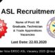 DRDO ASL Recruitment 2020