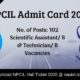 NPCIL Admit Card 2020
