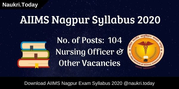 AIIMS Nagpur Syllabus