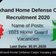 Jharkhand Home Defense Corps Recruitment