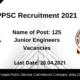 PPSC Recruitment 2021