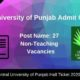 Central University of Punjab Admit Card 2020