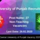 Central University of Punjab Recruitment 2020