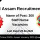 GMCH Assam Recruitment