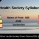 Bihar Health Society Syllabus 2020